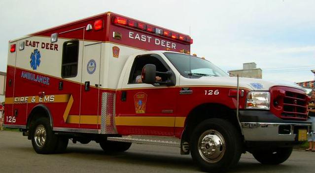 East Deer Ambulance Pic